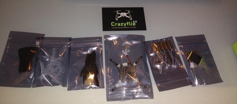 crazyflie 2.0 package contents